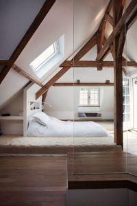 archi design chambre poutres