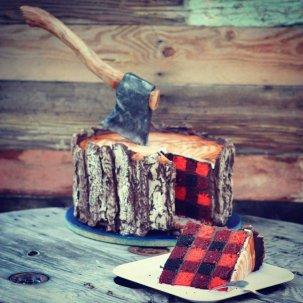 gateau bucheron canadien