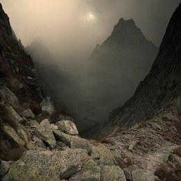 paysage rocailleux montagne
