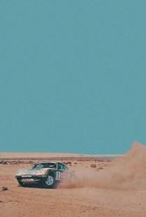 porsche rally desert