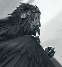 artwork concept - homme oiseau