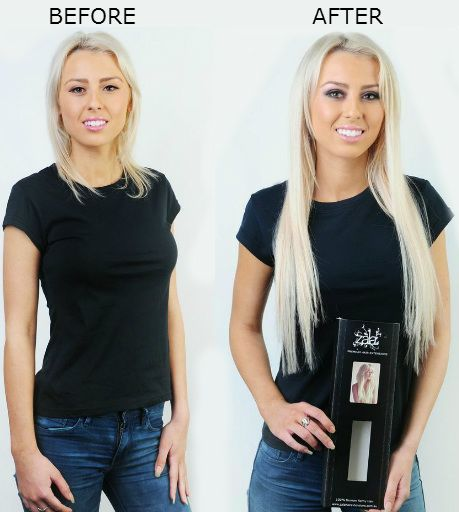 Short To Long Hair With Extensions By ZALA
