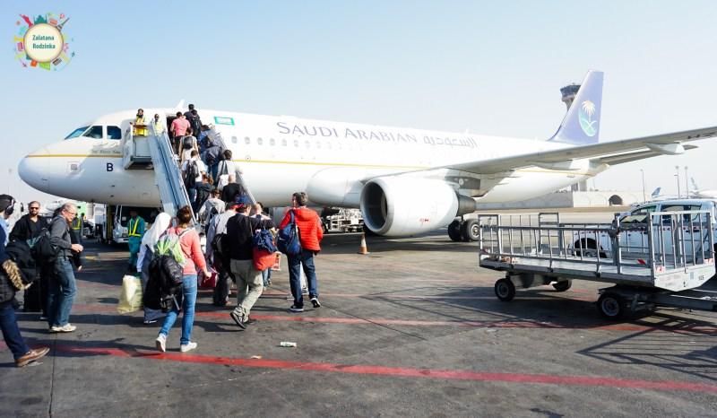 saudi arabian samolot