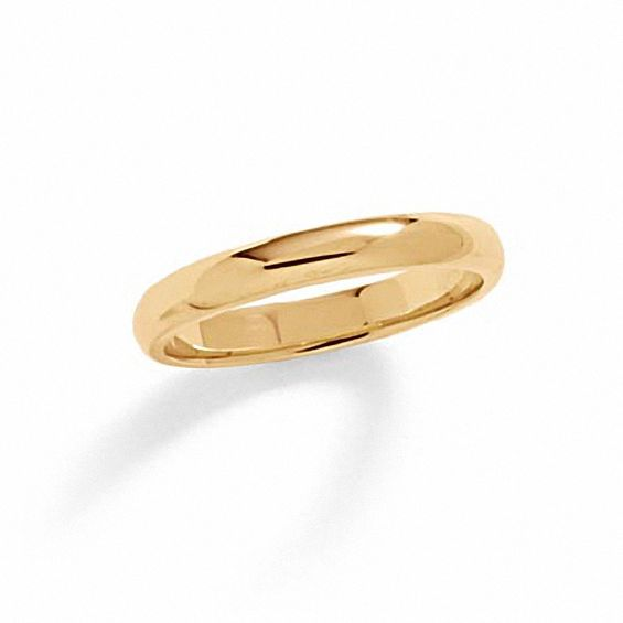 men s 3 0mm wedding band in 14k gold