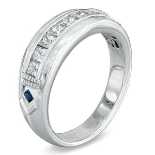 Vera Wang Love Collection Mens 34 CT TW Square Cut