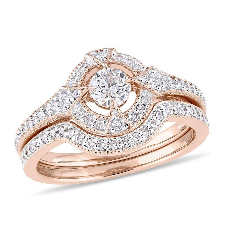 Pink And Black Diamond Rings Zales