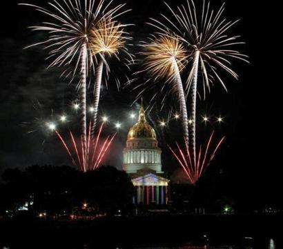 West Virginia 150th Birthday- City of Charleston