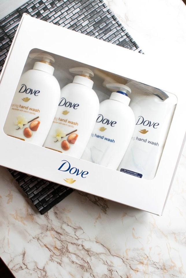 kit testare sapunuri crema dove