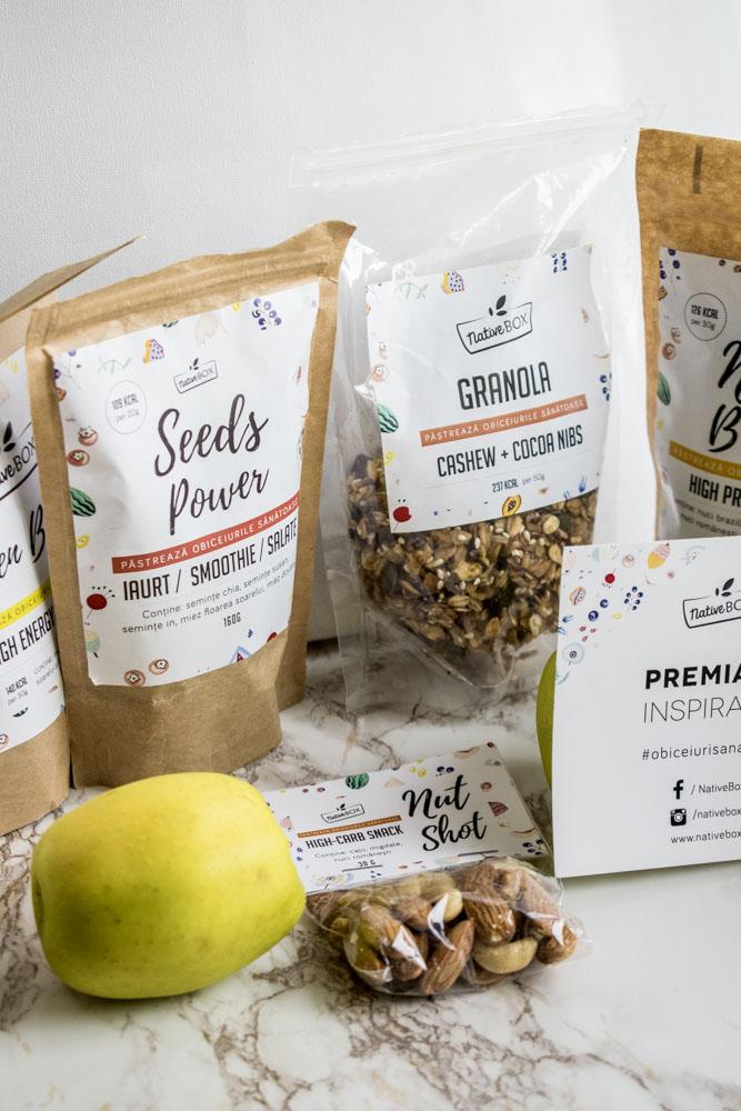 Tu ce obiceiuri sănătoase ai? Native Box oferă o mulţime de combinaţii şi produse sănătoase, perfecte pentru micul dejun şi nu numai.