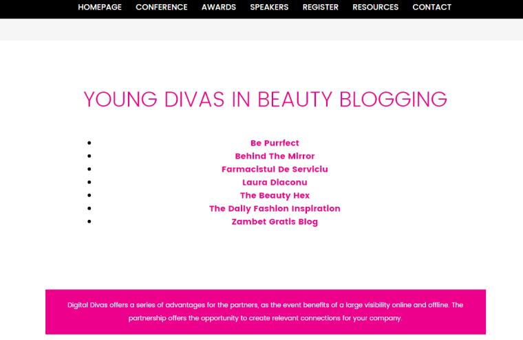 nominalizată la Digital Divas 2017