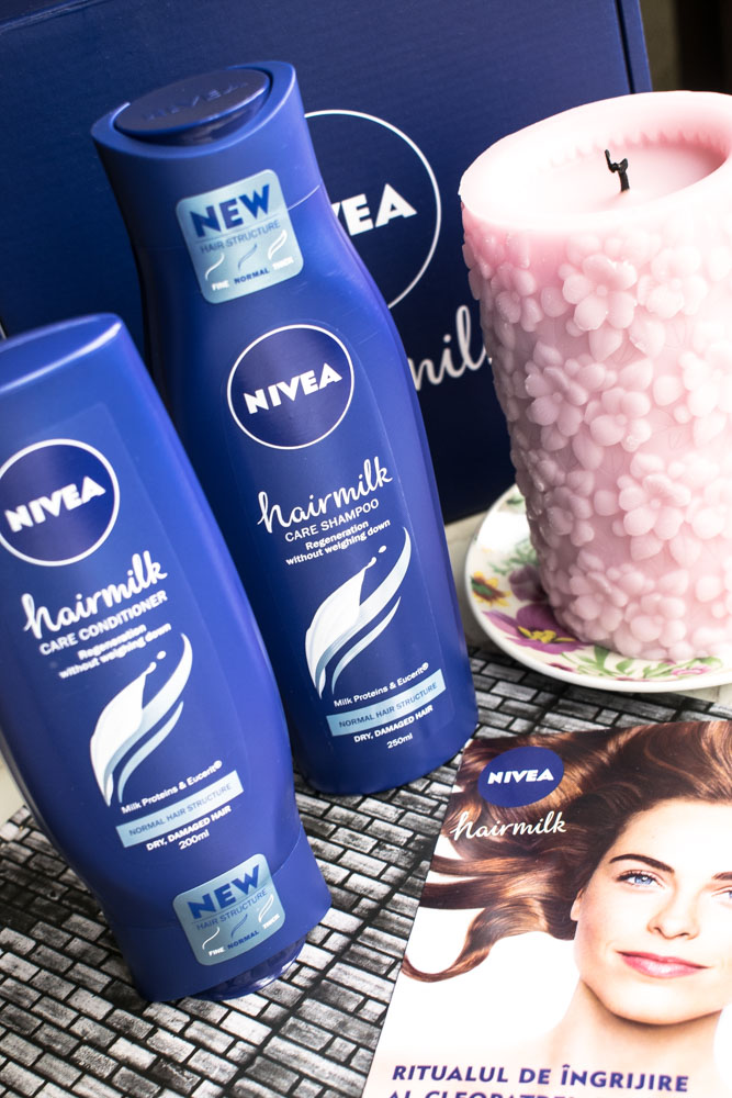Noua gamă NIVEA Hair Milk