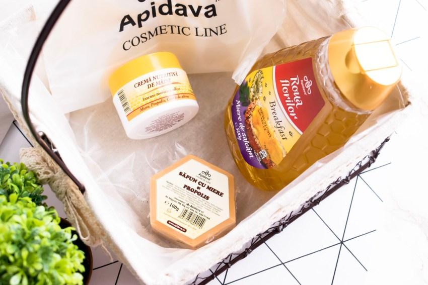 Ingrijire naturala cu Apidava Cosmetic Line