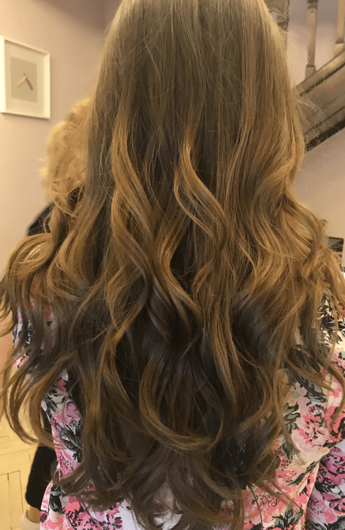 Beach waves at Tribute Salon by George Soare