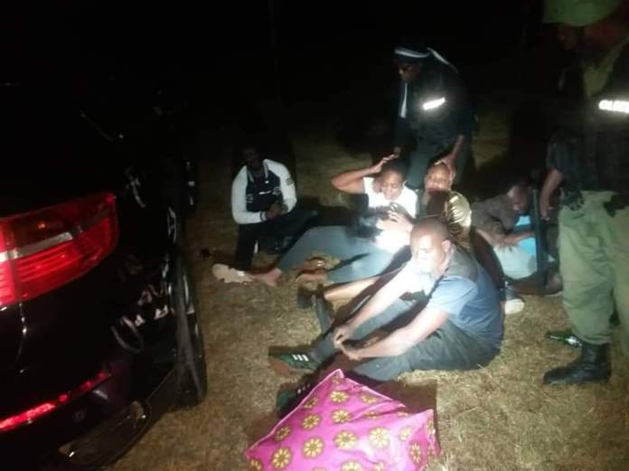 WATCH VIDEO: Police officers whip some of the patrons who gathered to consume alcohol amid Covid 19 Ban 2
