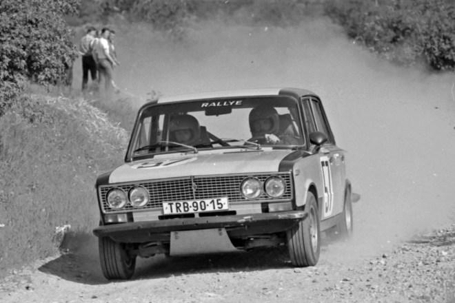 František Svoboda - Vladimír Holáň - Rallye Příbram 1984 - Lada VAZ 2103