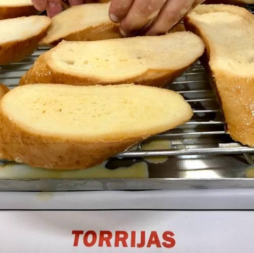 Receta de torrijas, calamillor Madrid V