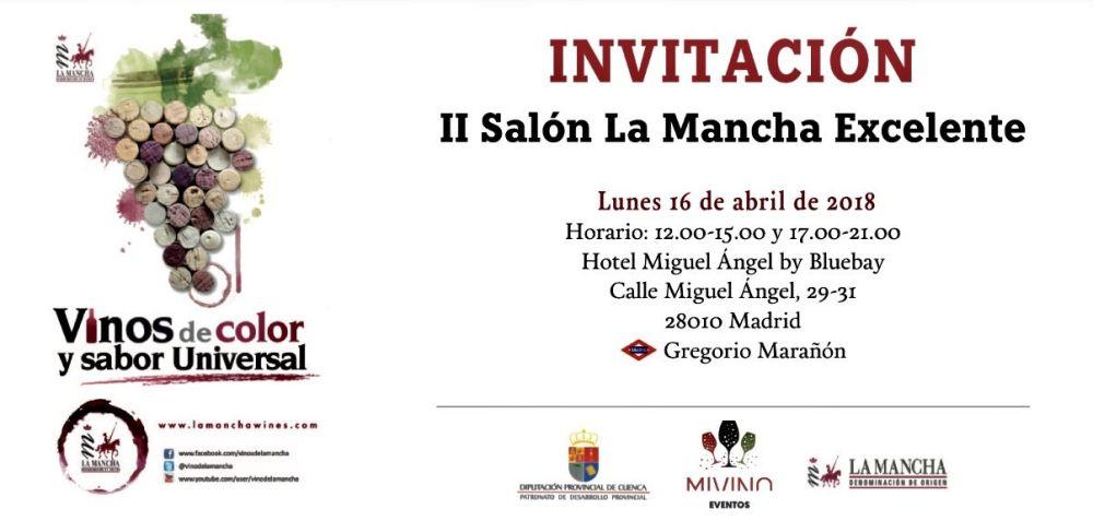 II Salón de La Mancha Excelente en Madrid