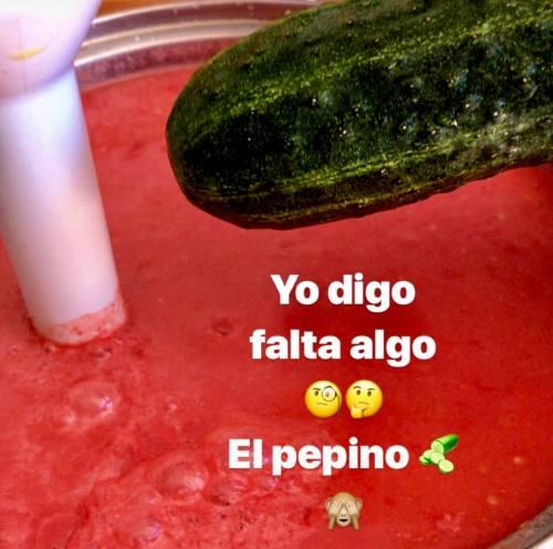 Gazpacho casero
