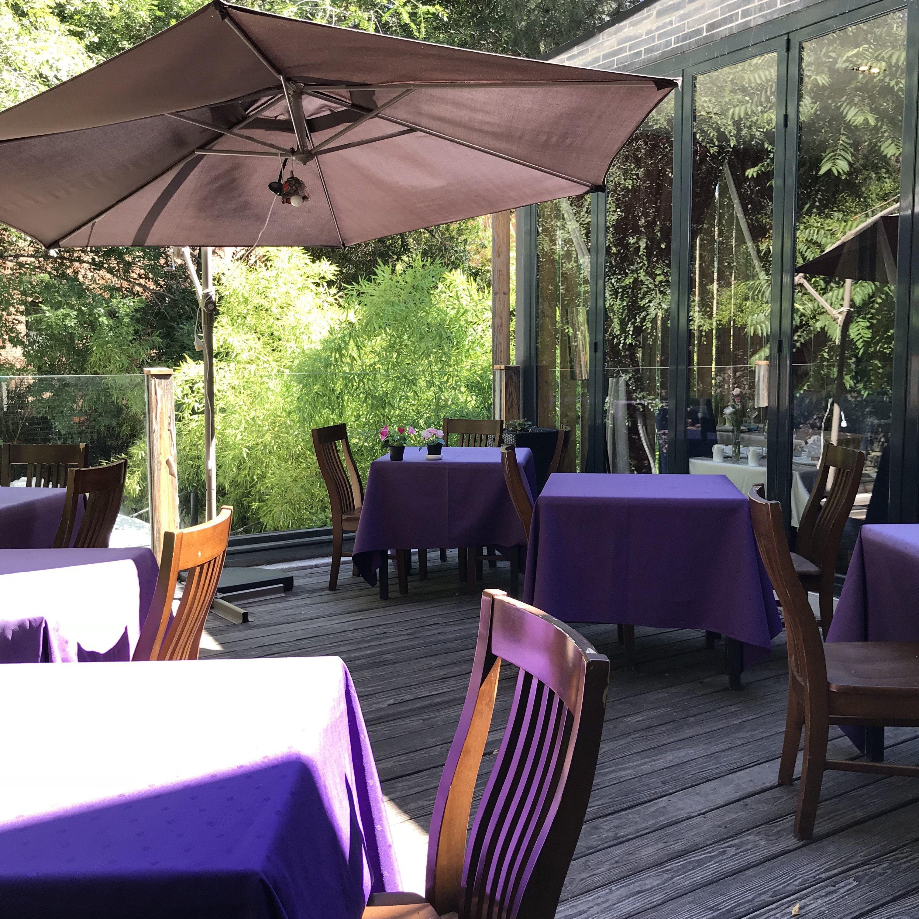 Cocina China En Madrid Con Terraza De Verano En El