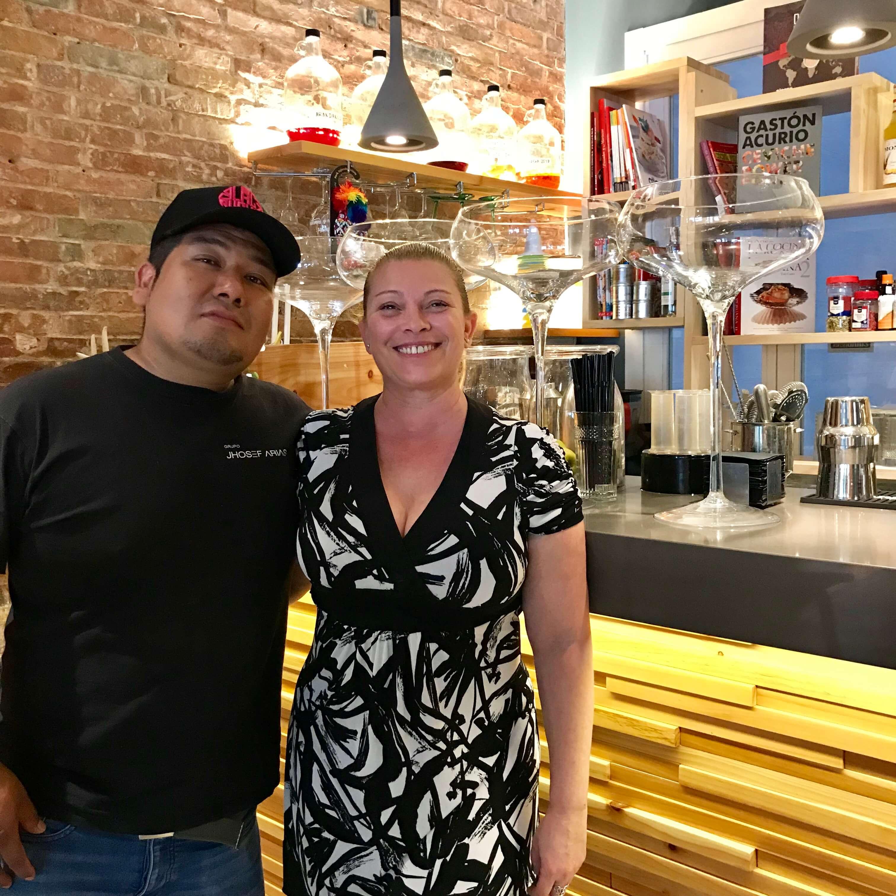 Restaurante Piscomar, Chef Jhosef Arias, Amanda Santamaria
