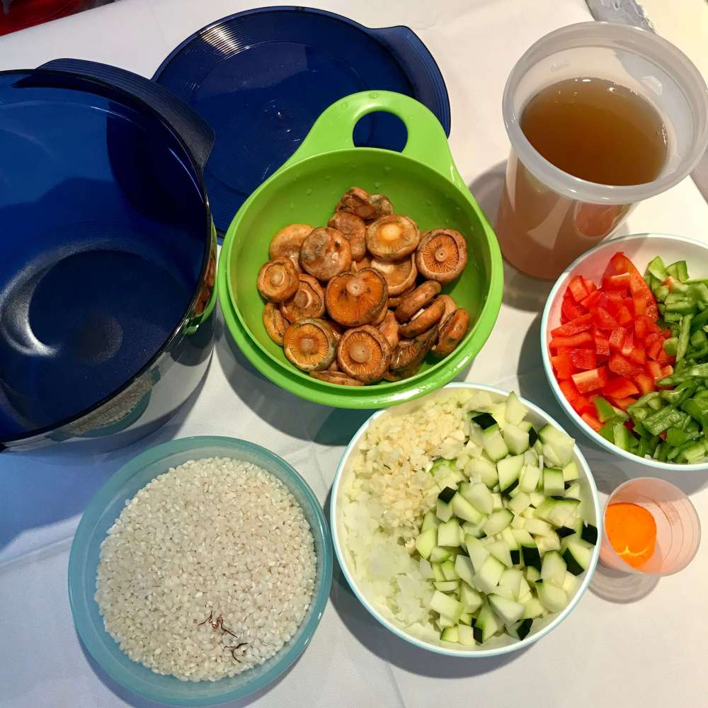 Receta de arroz con verduras