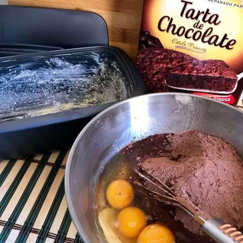 Receta de tarta de chocolate II