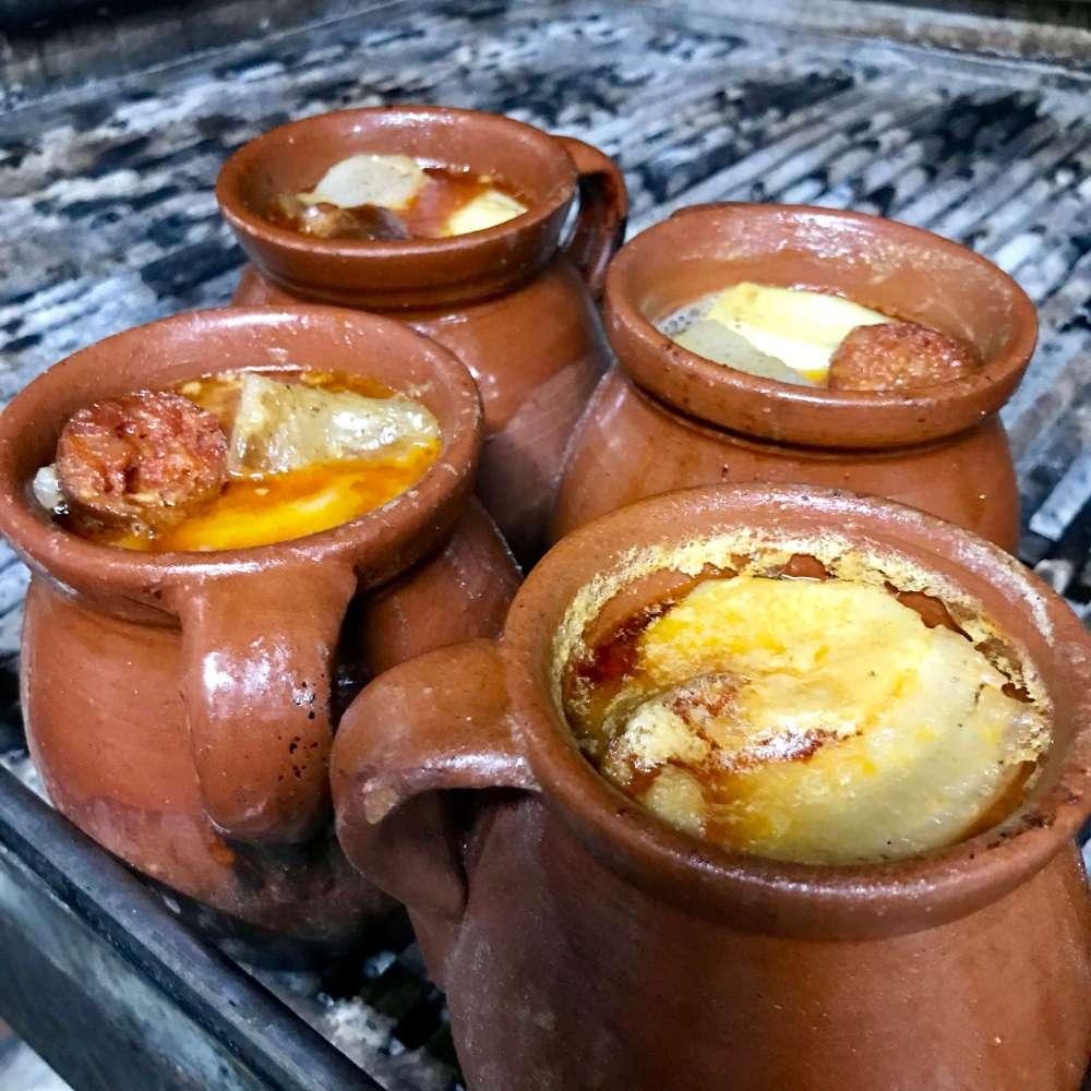 Cocido madrileño en Taberna La Bola