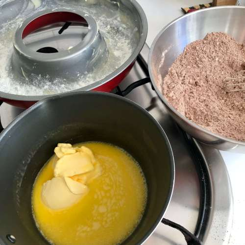 Receta para hacer bizcocho de chocolate
