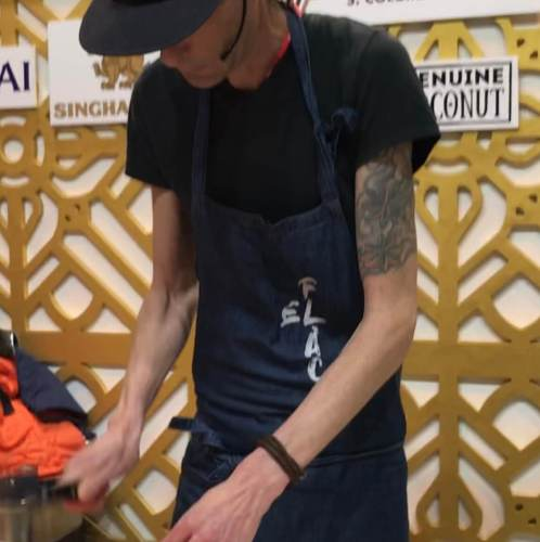 Chef Andy Boman