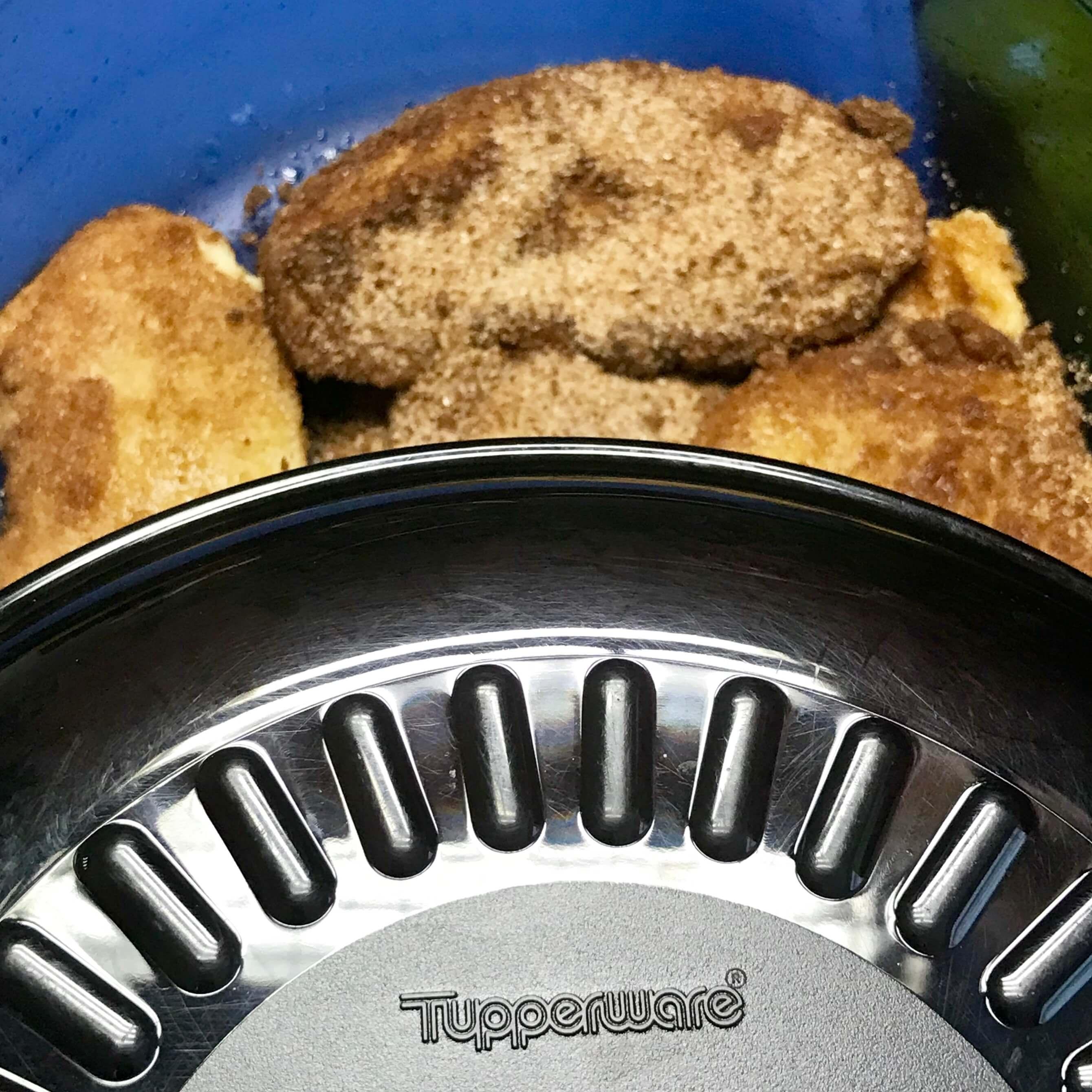Torrijas Tupperware