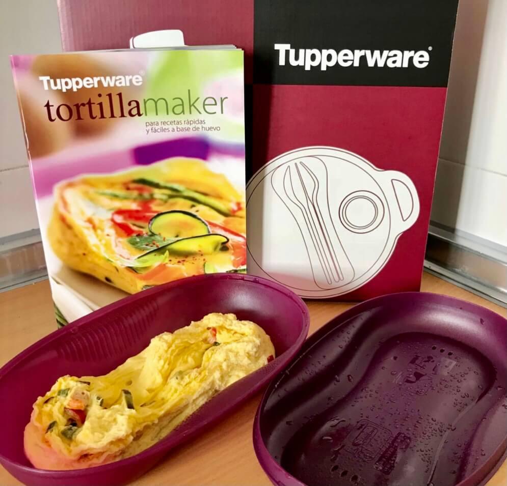 Frittata de pimientos con el Tortilla Maker