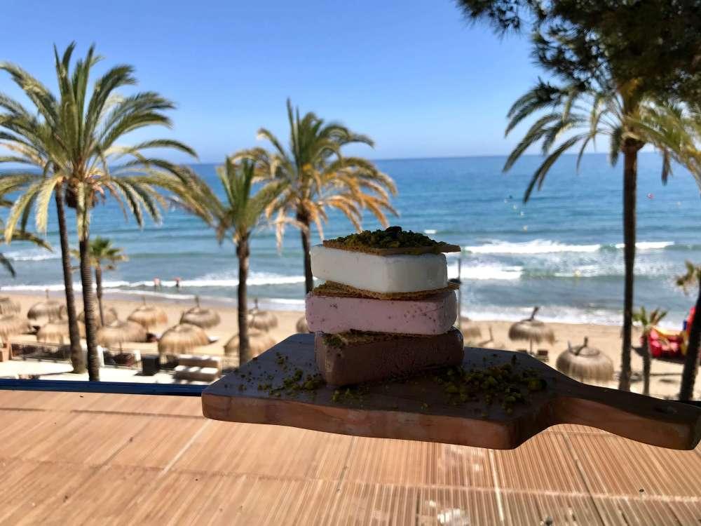 Helados en Marbella