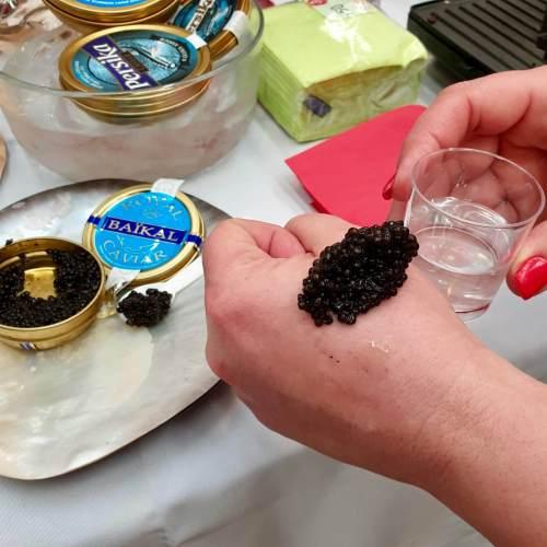 VodKa y caviar en Marbella All Stars 2019