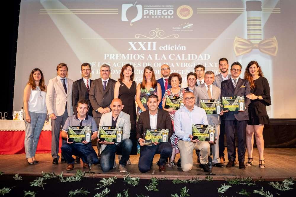 Ganadores de la Gala Priego de Córdoba 2019