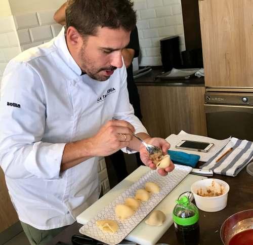 Pasta la Molisana con Javi Estévez