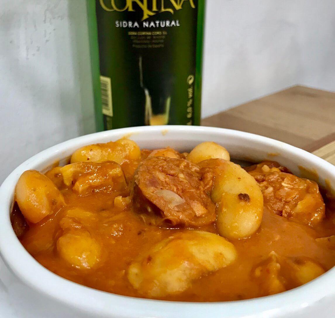 Comer en Gijón, Fabada