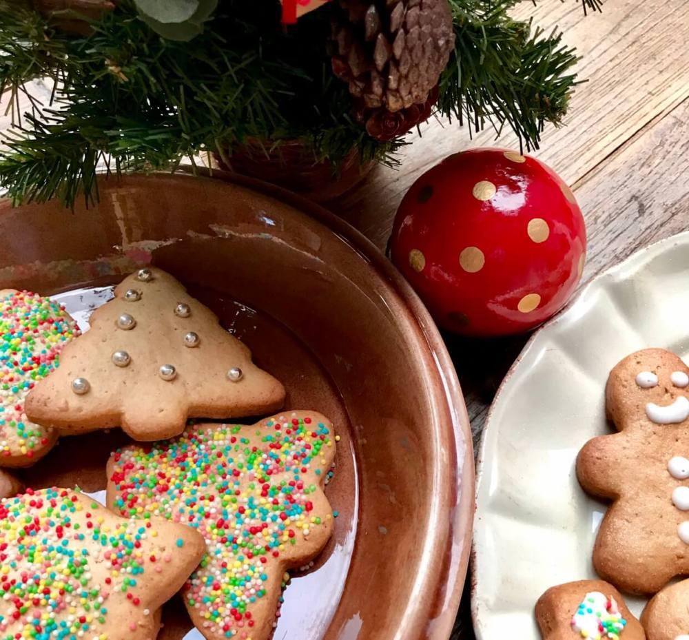 Recetas de galletas de Navidad con jengibre