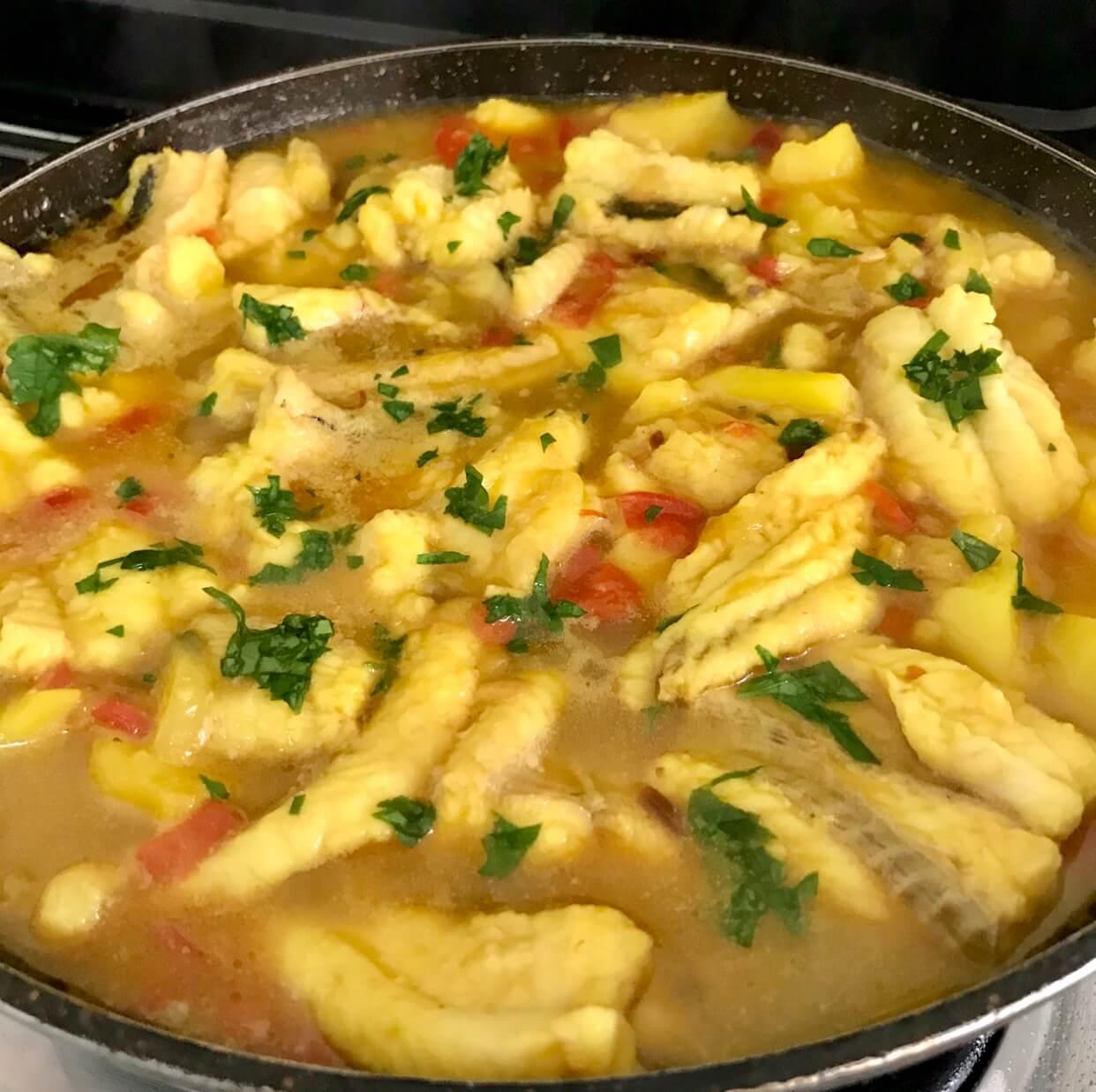Golayo con patatas