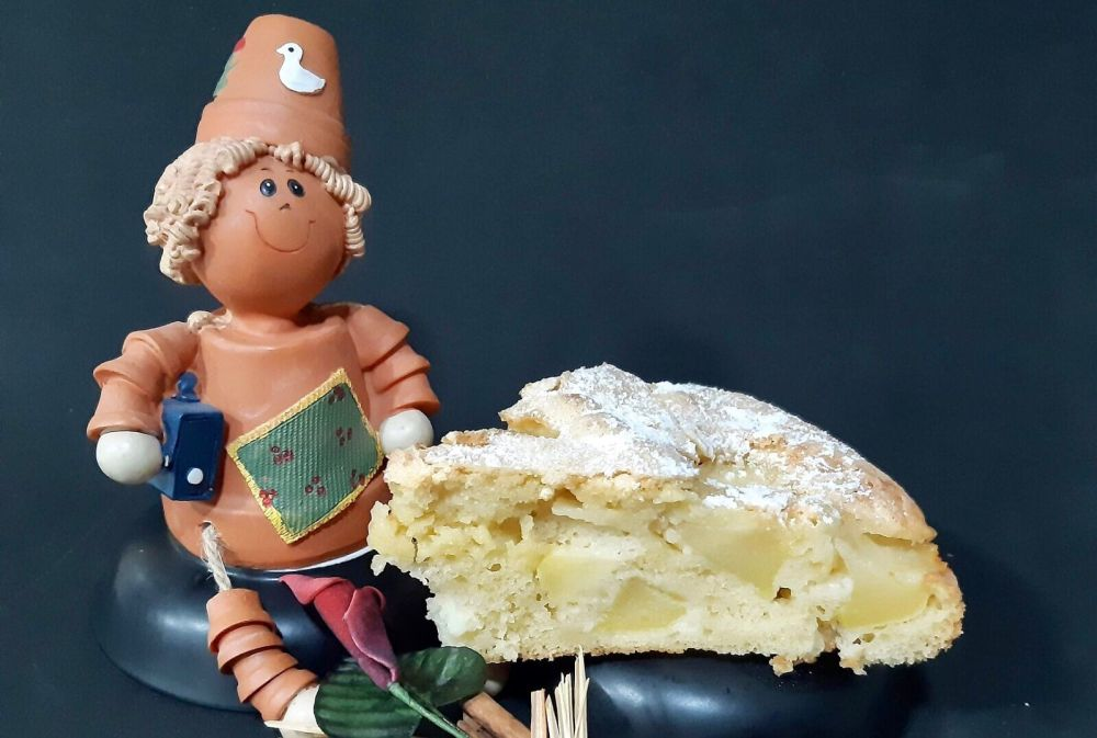 Receta de tarta Sharlotka rusa