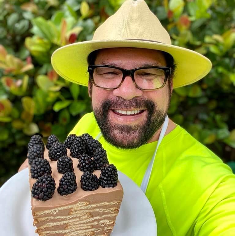 Marquesa de chocolate del Chef Jose Luis