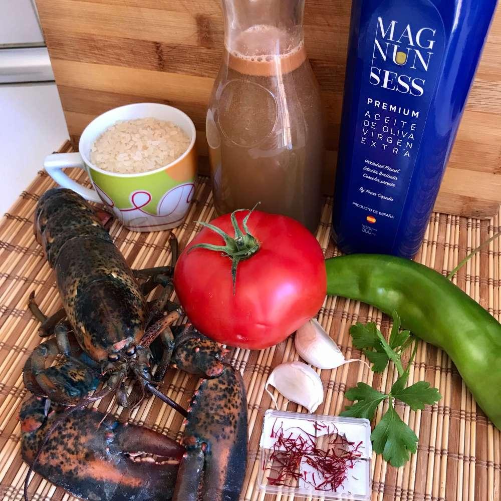 Ingredientes para cocinar