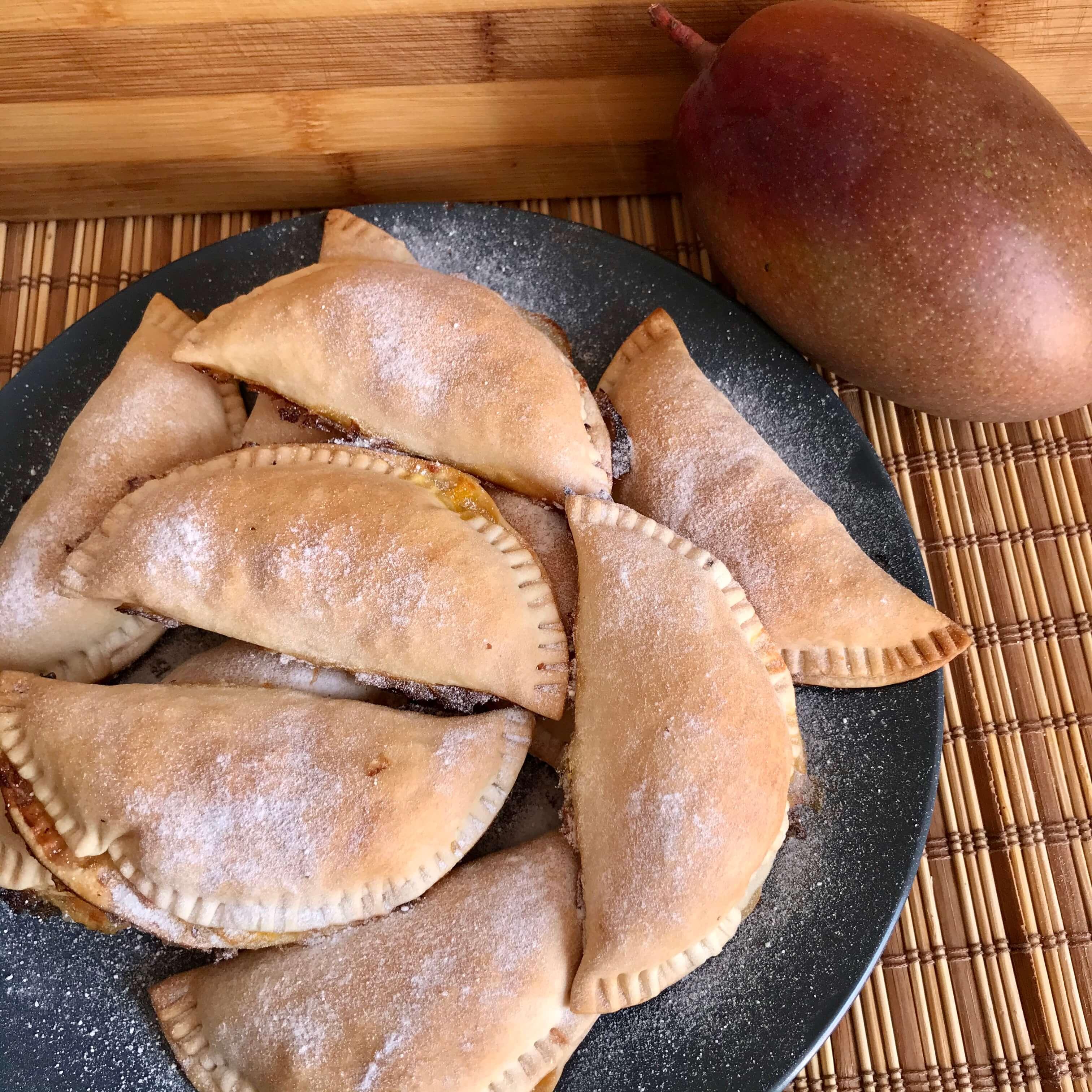 Empanadillas dulces de mango