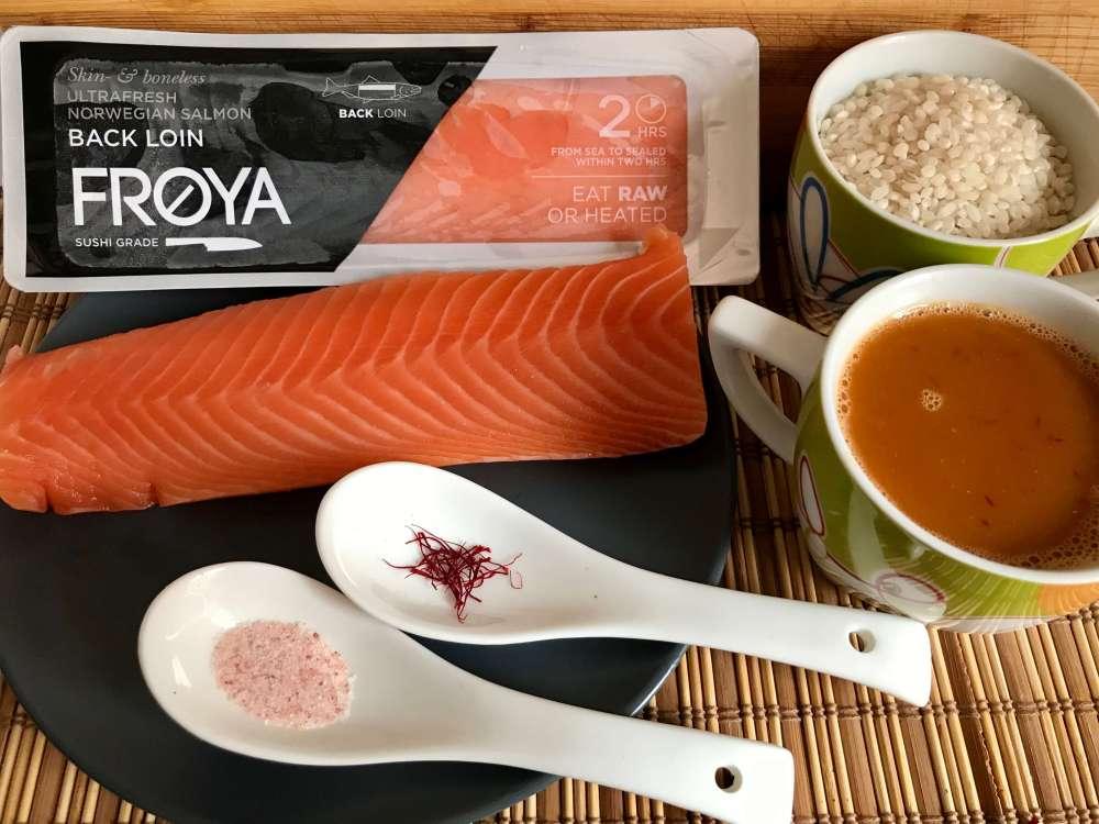 Recetas con salmón noruego Froya
