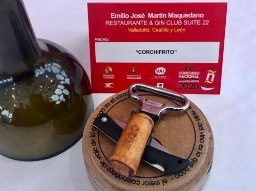 Corchifrito del restaurante Suite 22 (Valladolid) Primer premio