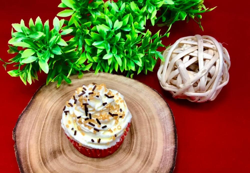 Receta de cupcakes de Navidad fáciles
