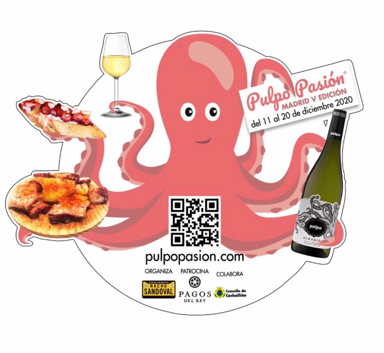 Pulpo Pasión Madrid 2020