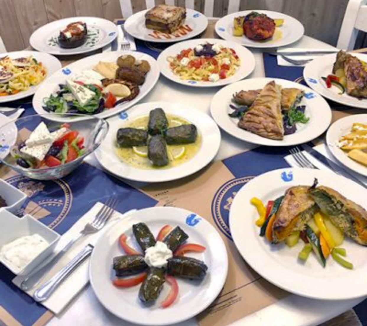 Gastronomía griega en Dionisios