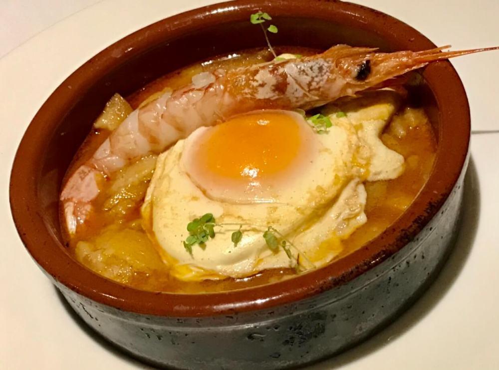 Sopas de ajo del restaurante El Pedrusco