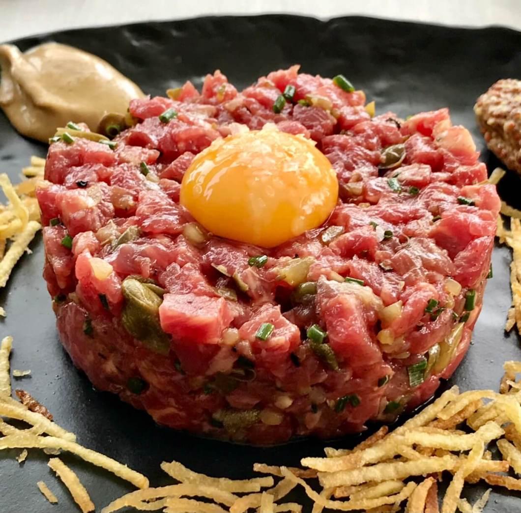 Steak Tartar de la Taberna de Elia