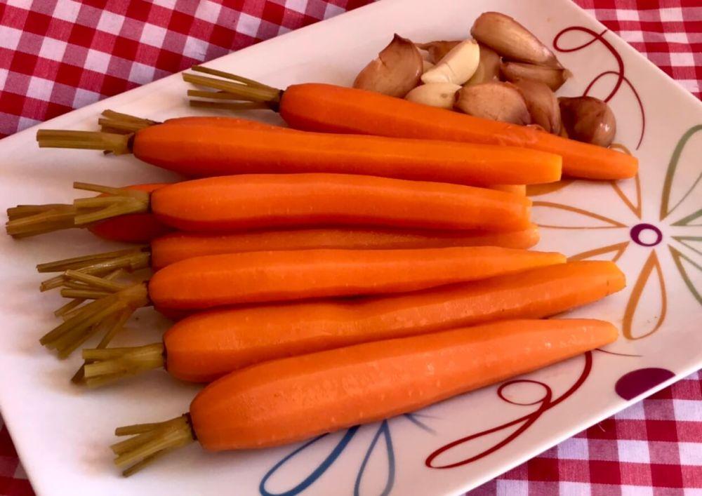 Zanahorias en escabeche